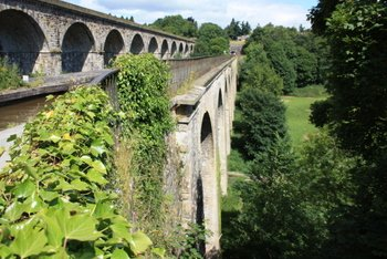Chirk Viaduct and Aqueduct